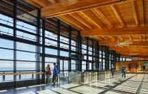 Interior view of the Mukilteo Ferry Terminal