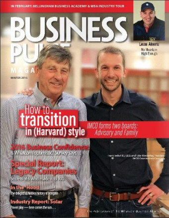 IMCO Frank Imhof Tyler Kimberley Business Pulse Magazine Cover