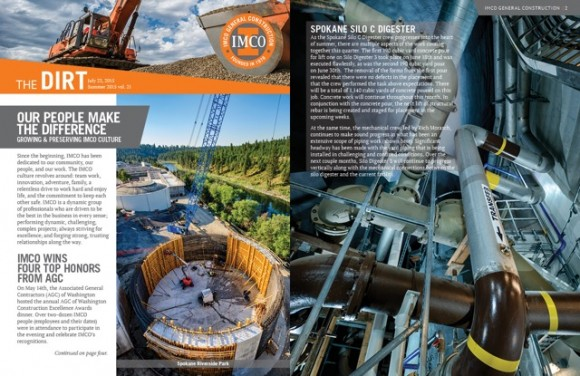 IMCO Volume 21 The DIRT Highlights Corporate Newsletter