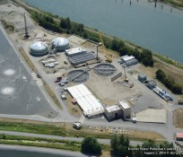 EVERETT WATER POLLUTION CONTROL FACILITY AERIAL IMCO CONSTRUCTION 4