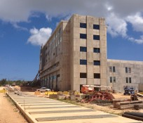 GRMC Guam Regional Medical Hospital Facility IMCO Construction at Dededo