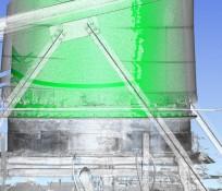 3D model image of Center 7 baghouse design