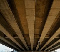 Washington State Route 20 underpass beneath Interstate 5 bridge