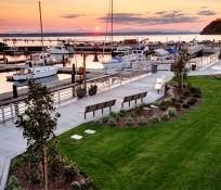 Des Moines Marina, Washington beautiful sunset