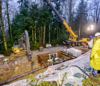Kinder Morgan Samish Pipeline Maintenance IMCO Construction