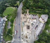 UAV Bird's eye-view of REDMOND STORMWATER PROJECT IMCO CONSTRUCTION