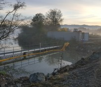 Wiley Slough IMCO General Construction Tidegate Concrete Structures Skagit County Restoration