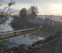 Wiley Slough IMCO General Construction Tidegate Concrete Structures Skagit County Restoration